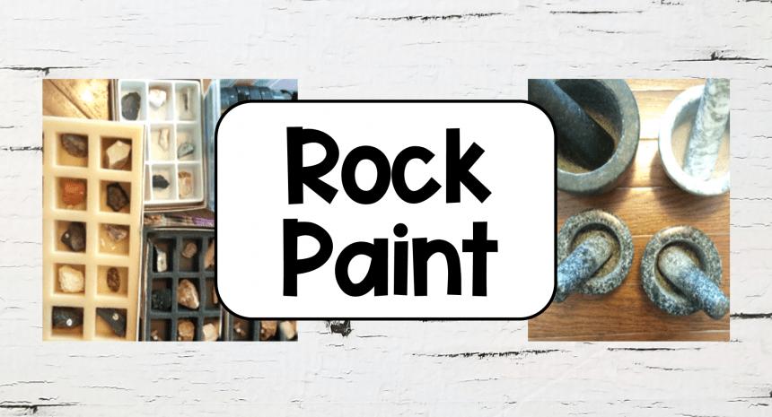 Homemade Paint DIY Rock Paint