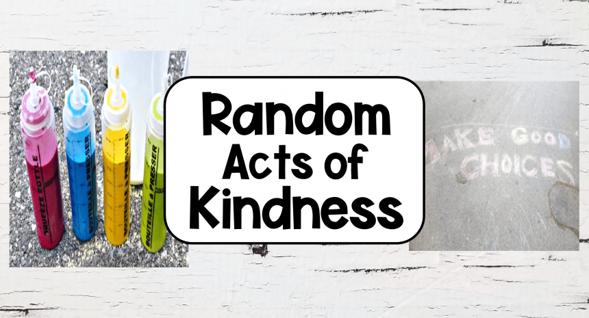 Easy Random Acts of Kindness for Kids