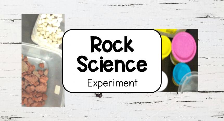 Rock Activities for Kids – Being Geologists
