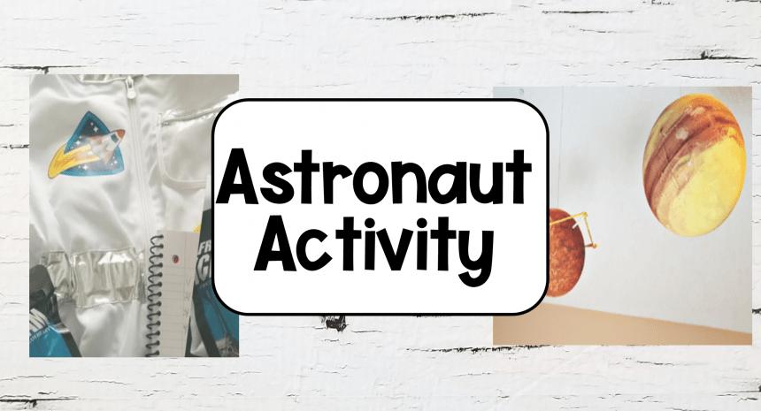 Space Activities for Kindergarten