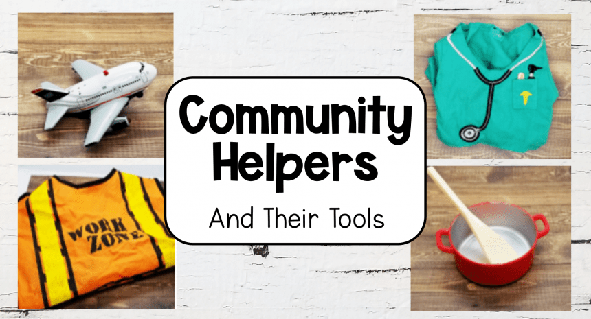 Community Helpers and Their Tools Activity Ideas