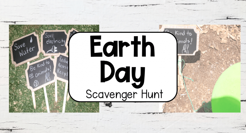 Simple Earth Day Activity for Kids
