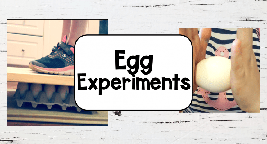 Science Experiment for Kids with Eggs