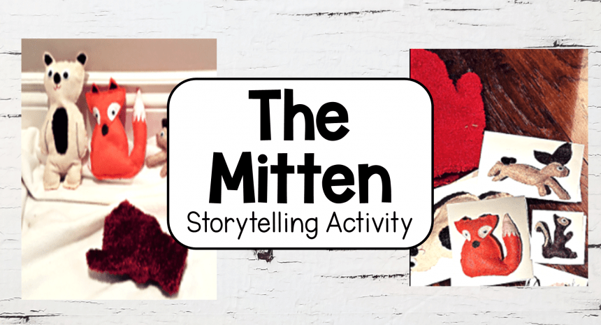 The Mitten Story Printable and Hands-On Activity
