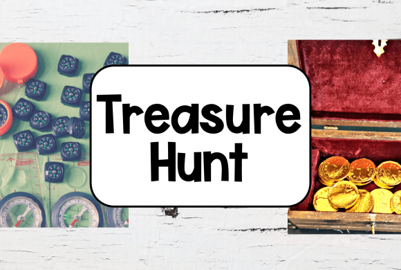 DIY Treasure Hunt for Kids