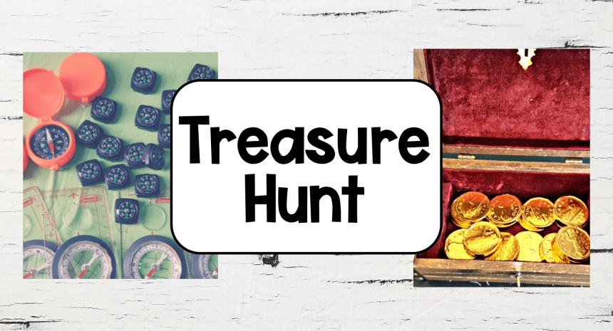 DIY Treasure Hunt for Kids