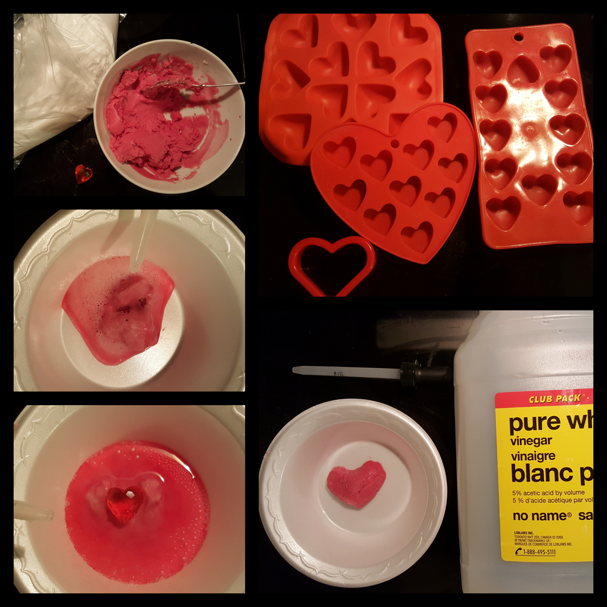 Valentine's Day Science – Chemical Reaction