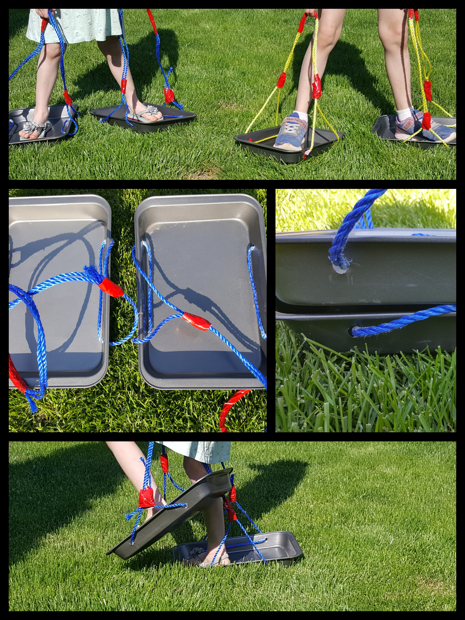 Relay Race Idea – Slider Shoes