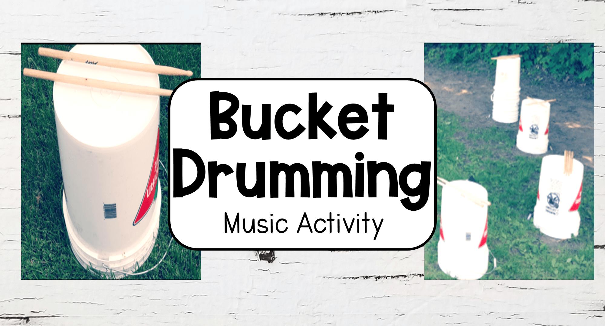 Easy Bucket Drumming For Kids Hands On Teaching Ideas