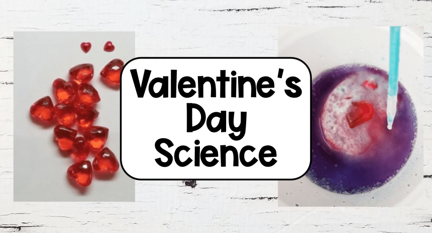 Valentine's Day Science Chemical Reaction