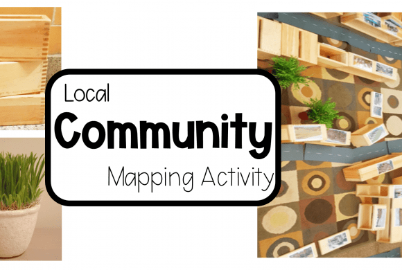 Community Mapping Activity for Kids