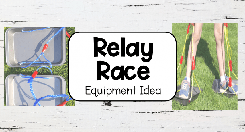 Fun Relay Race Idea – Slider Shoes
