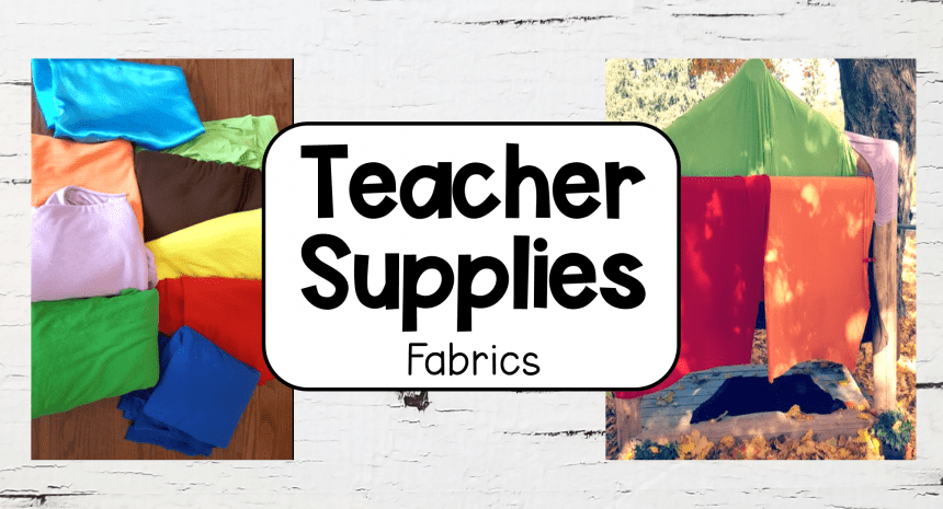 School Supplies – Fabric