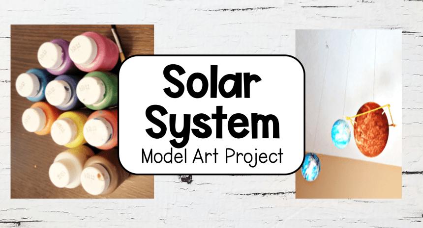 DIY Solar System Model Idea