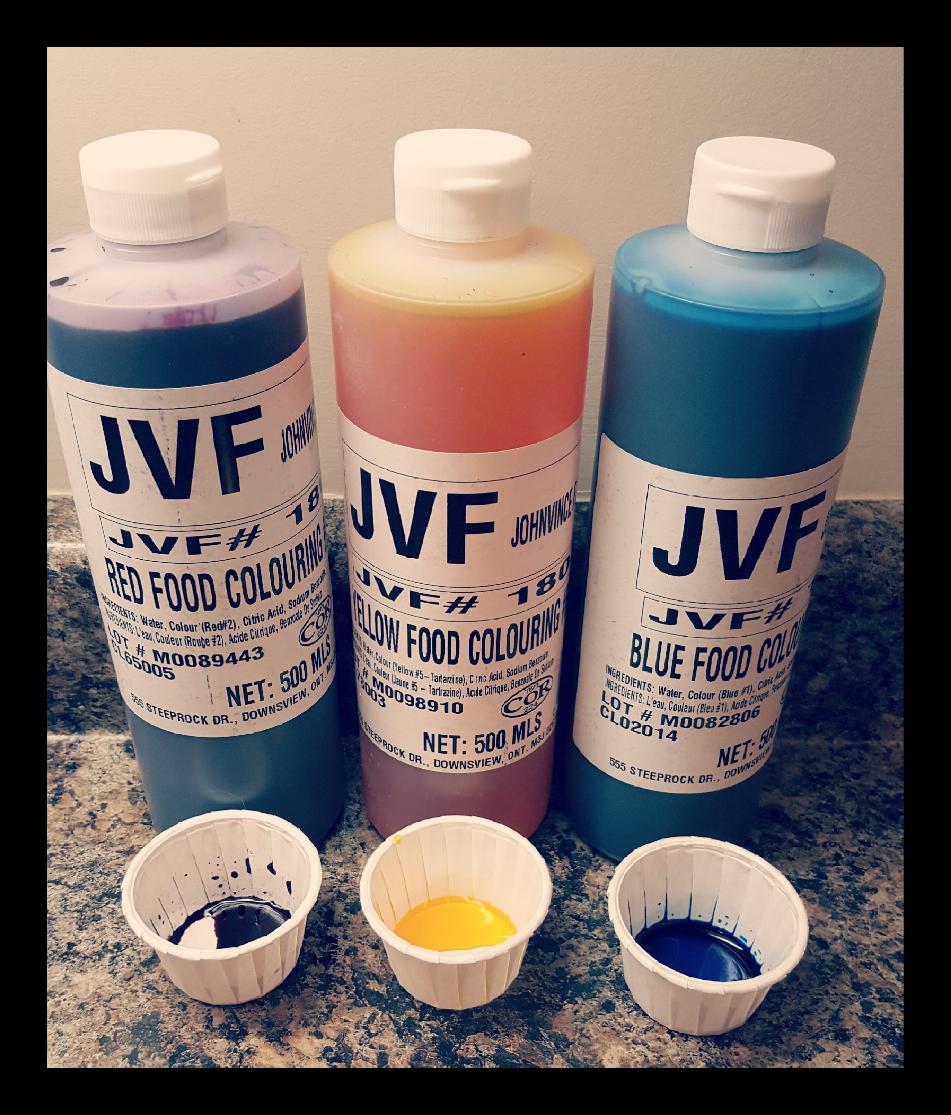School Supplies – Food Colouring