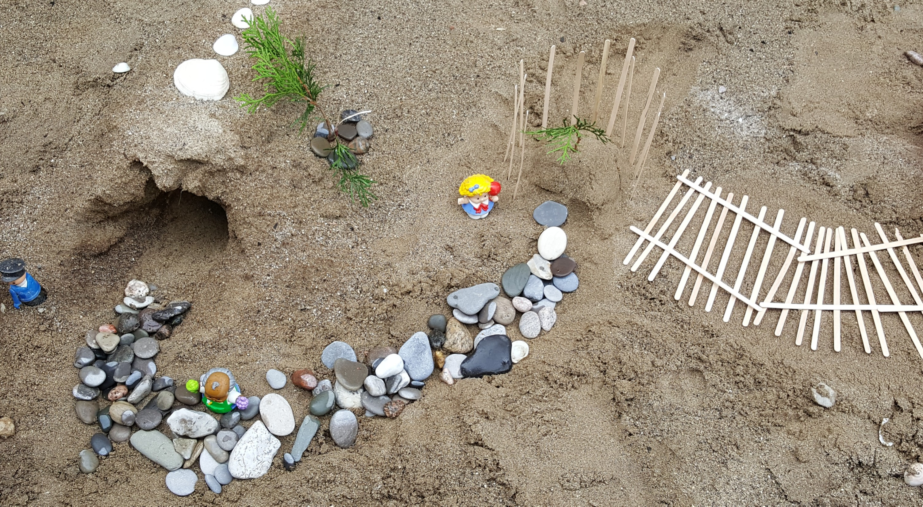 Sand pit Creation