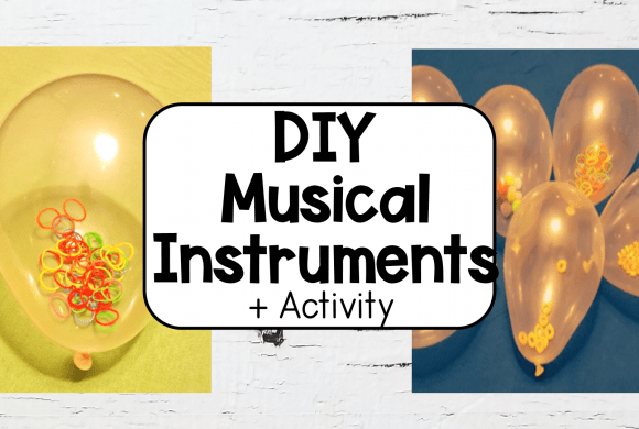 Easy Kids Music DIY Balloon Instrument