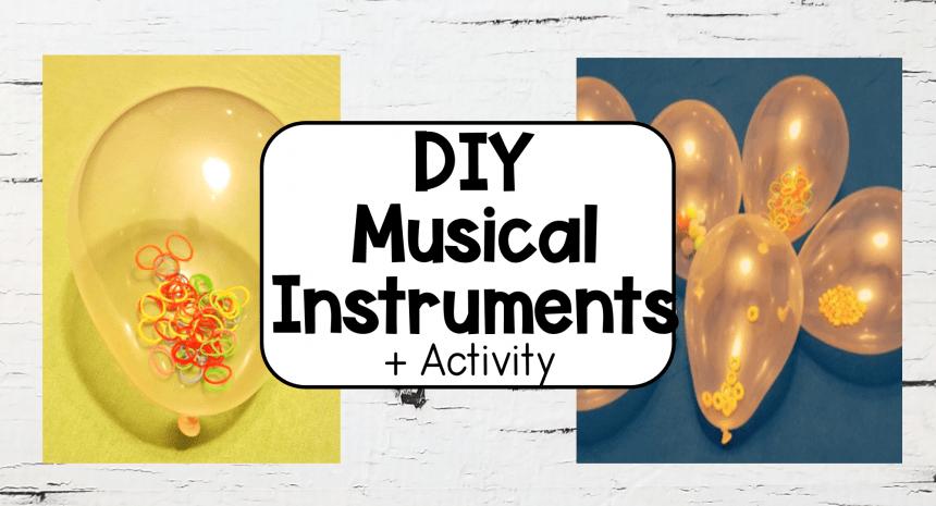Easy Kids Music DIY Balloon Instrument