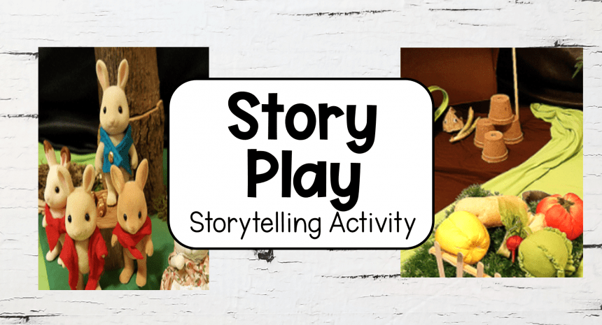 The Tale of Peter Rabbit Storytelling Activity