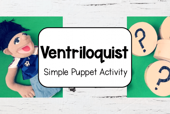Simple Ventriloquist Puppet for Kids