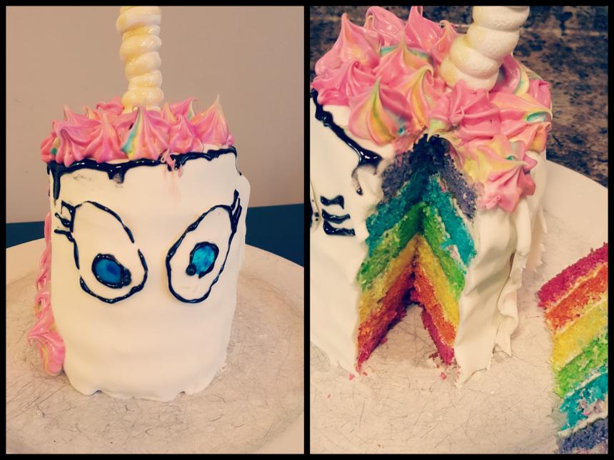 DIY Unicorn Cake – Baking Challenge for Kids
