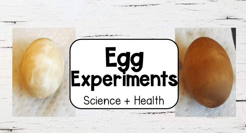 Egg Experiments with Toothpaste