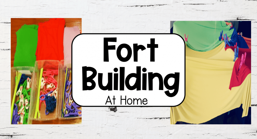 Fort Building For Kids at Home