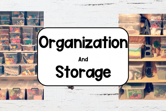 Easy Kindergarten Organization Ideas for Toys and Supplies