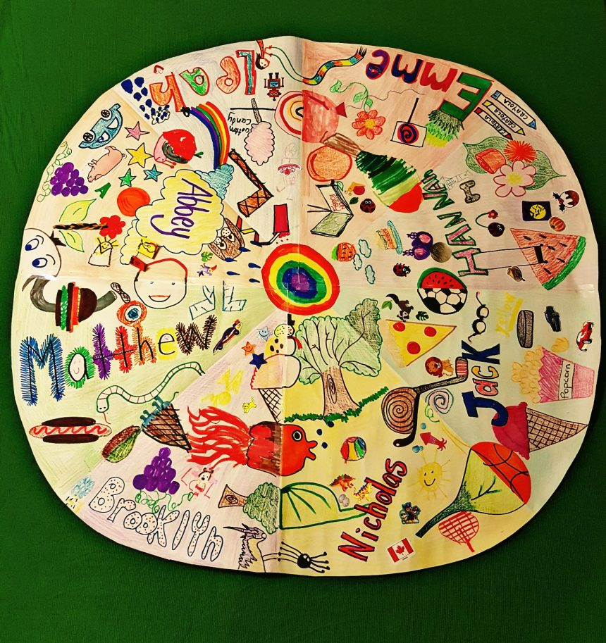 Art Project for Kids – Friendship Wheel