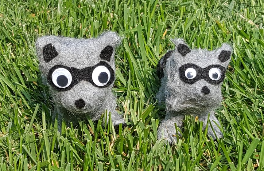 Clay Animals – Racoon