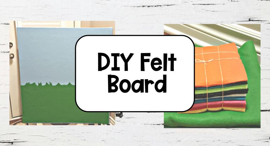 DIY Felt Board for Teaching