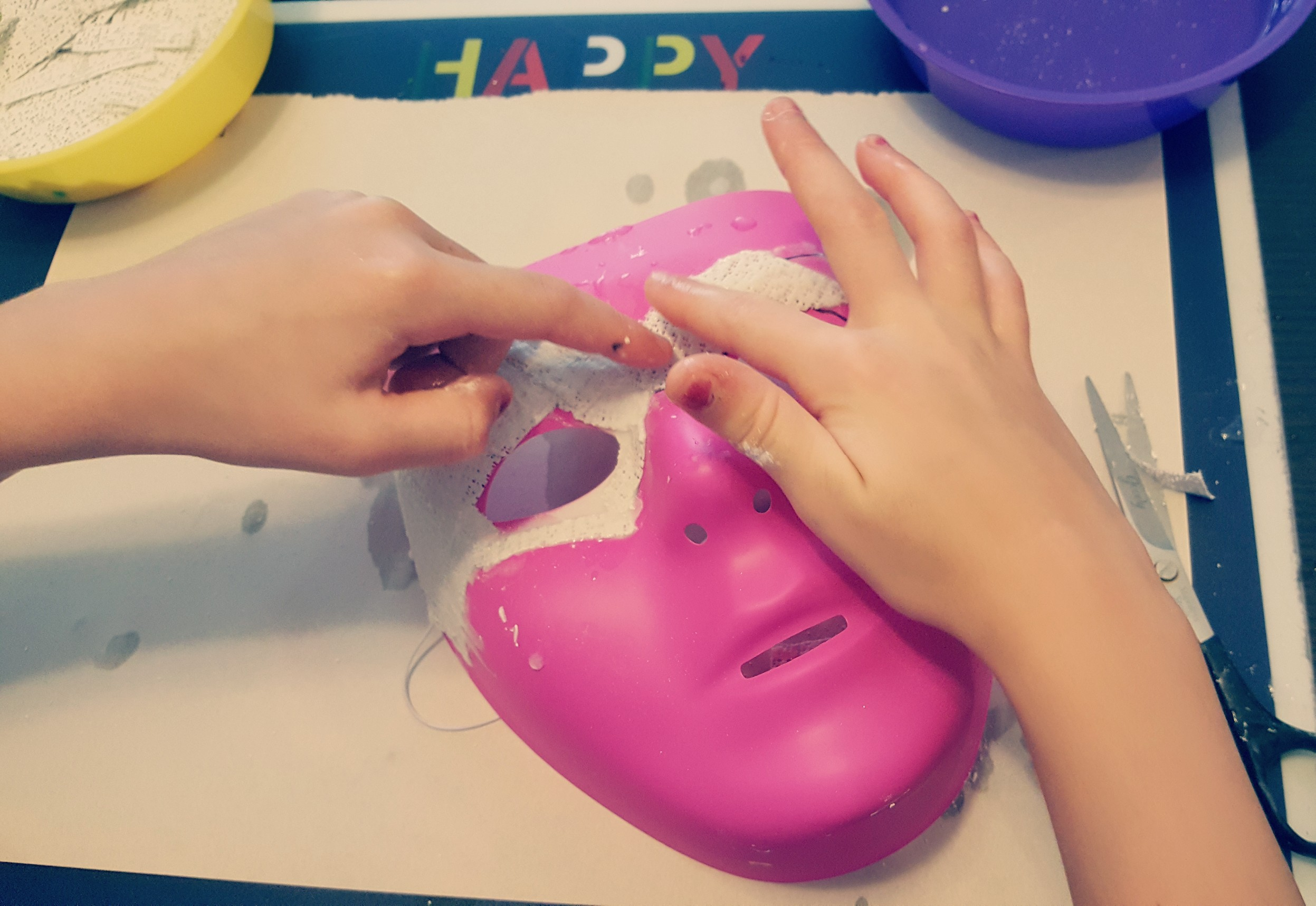 Mask Making for kids - Hands-On Teaching Ideas