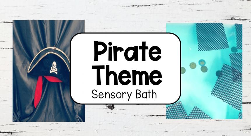 Pirate Bath Special Themed Bath