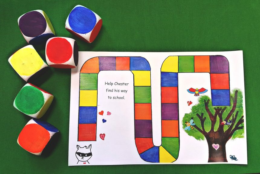 Preschool Games – The Kissing Hand