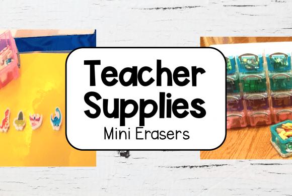 Teacher Supplies and Organization