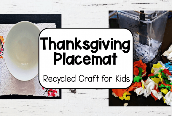 Thanksgiving Crafts for Kids – Recycled Placemats