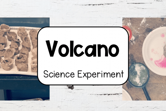 Clay Volcano Experiment for Kids