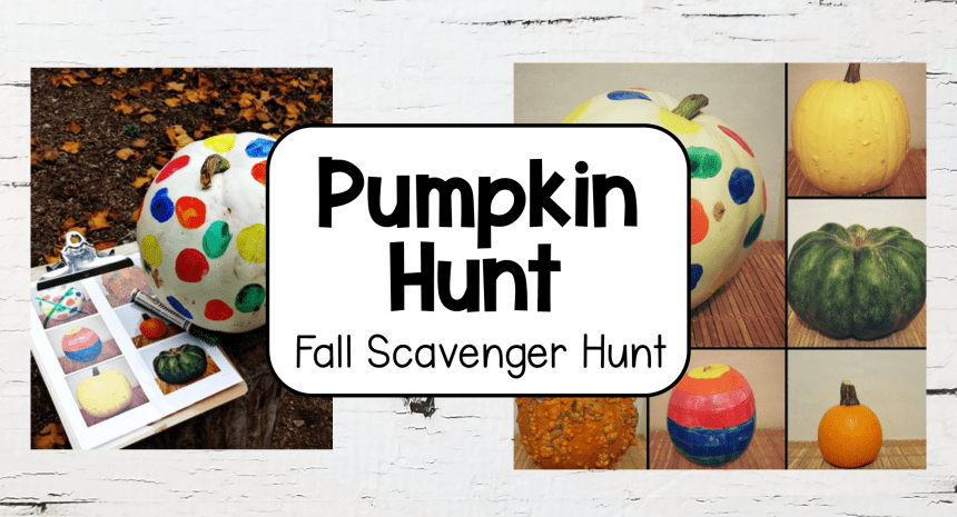 Pumpkin Games Fall Scavenger Hunt