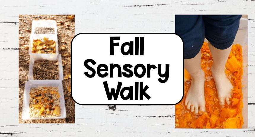 Sensory Activity A Walk Through Fall