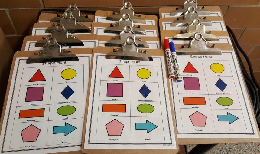 Kindergarten Worksheet and Math Activity
