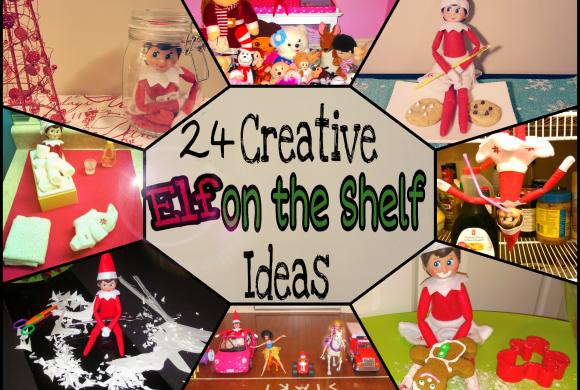 Elf on the Shelf Ideas- 24 Days of Fun
