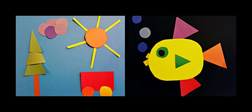 Art Project for Kids – Shape Art