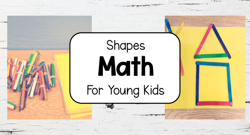 Math Activities for Preschool and Primary Shapes