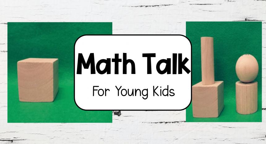 Math Talk for Kindergarten
