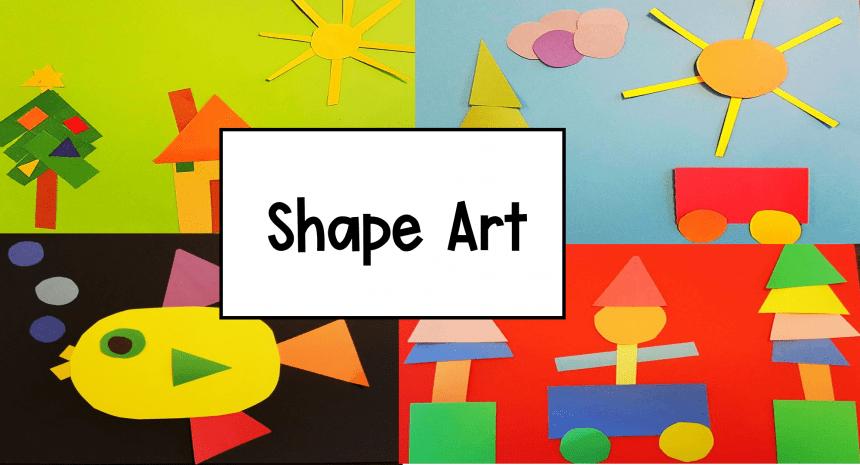 Math + Art Project for Kids