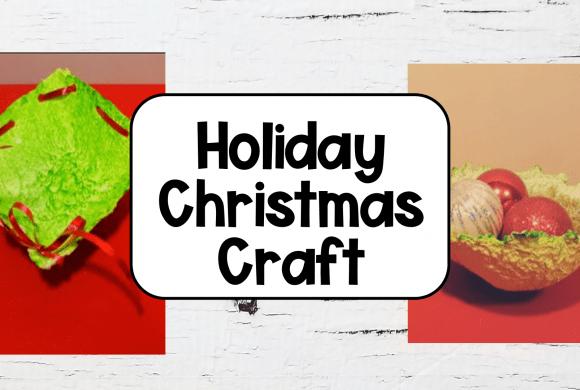 Preschool Christmas Crafts for Kids