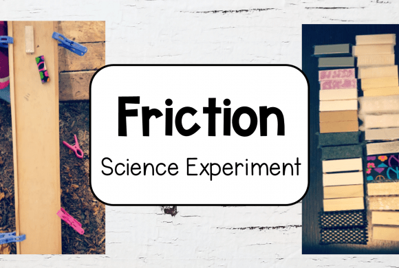 Simple Friction Experiments for kids