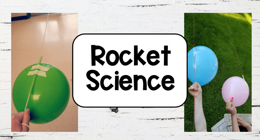 Balloon Rocket Science for Kids