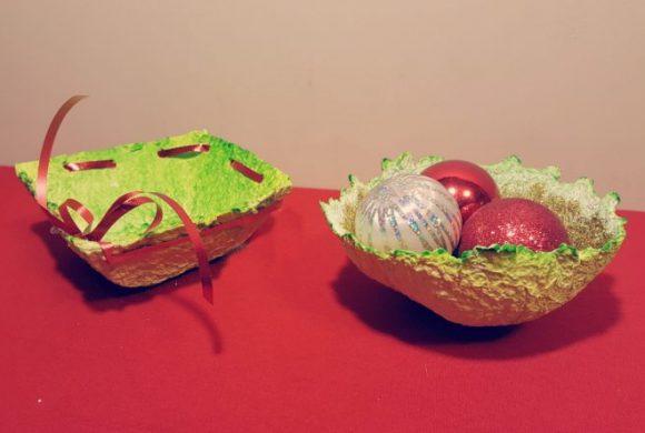 Preschool Christmas Crafts – Bowls