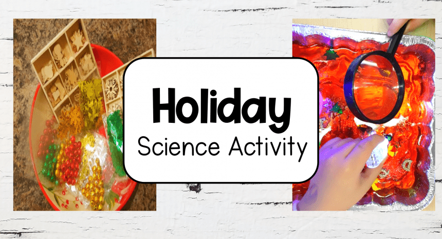 Holiday Science Experiment for Kids